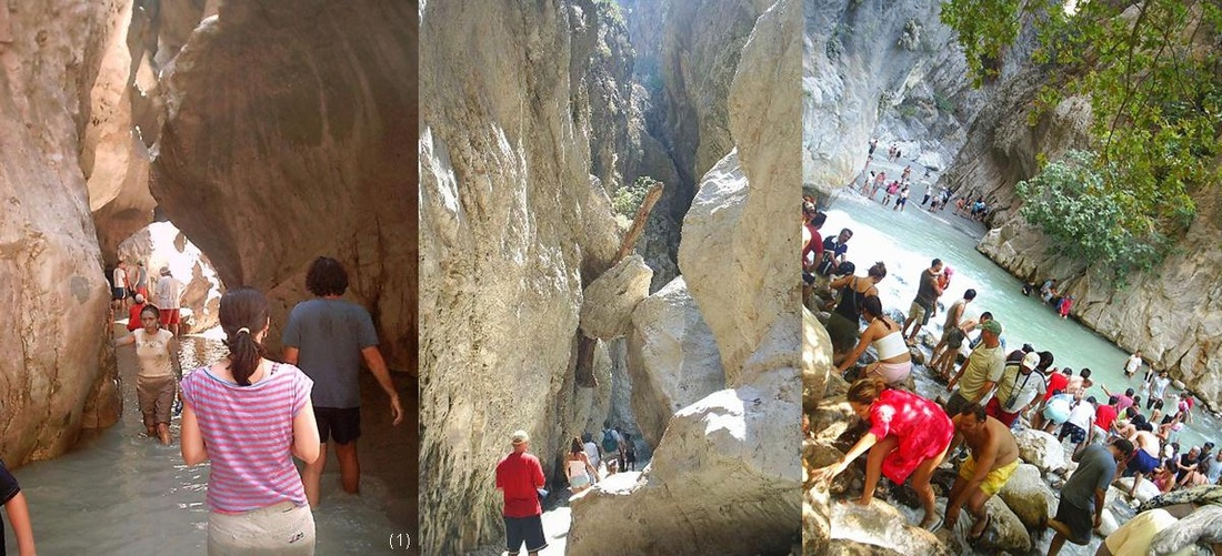 Turkey, Turkish, river activities, canyoning, saklikent